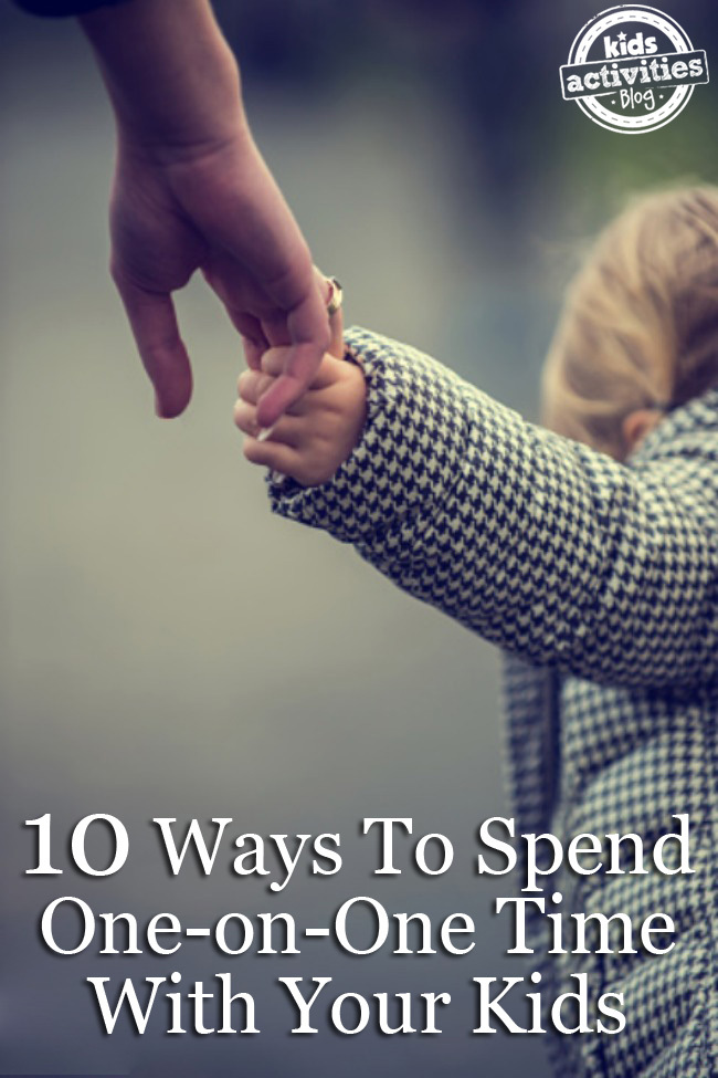 10 Ways to Spend One-on-One Time With Your Kids