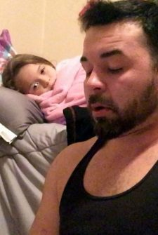 Soldier Has A Severe Stutter, But Refuses To Let It Stop Him From Reading Bedtime Stories To His Daughter!