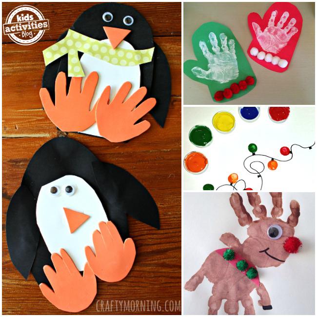 Holiday Handprint Art