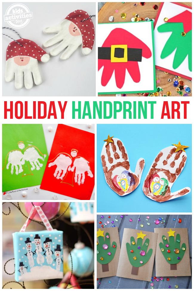 Holiday Handprint Arts