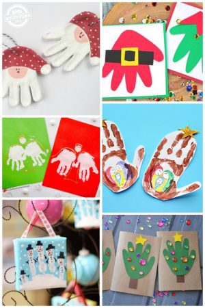 Holiday Handprint Art
