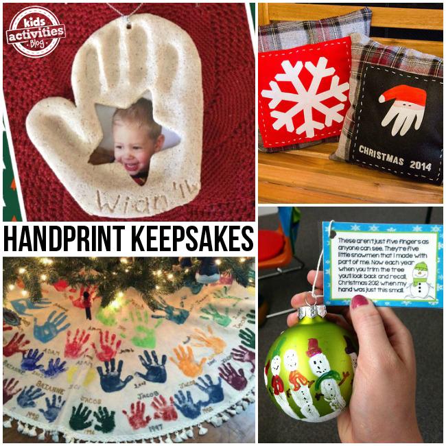 Holiday Handprint Keepsakes
