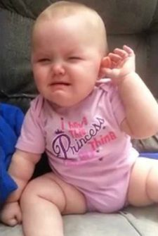 This Baby's Fake Cry Will Make You Laugh Out Loud!