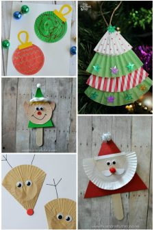 11 Holiday Cupcake Liner Crafts