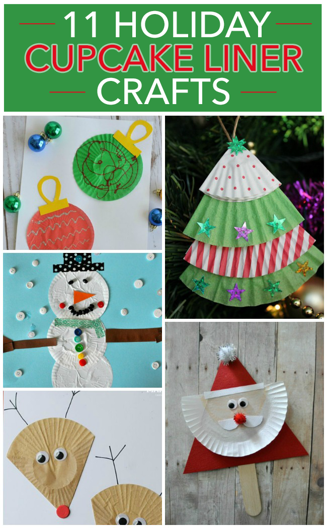 christmas cupcake liner craft ornament 11 cupcake liner crafts 6046
