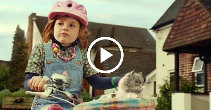 little-girl-on-bike-with-singing-cat