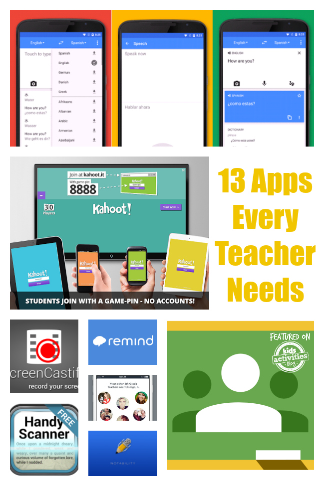 Apps Every Teacher Needs