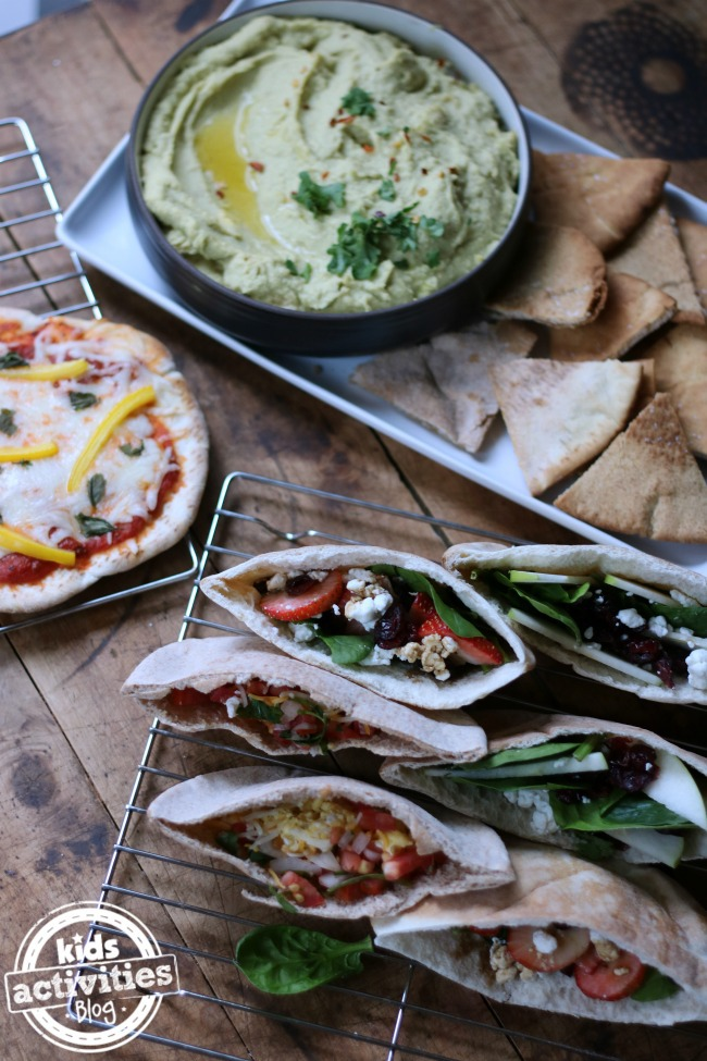 5 Fun Ways to Enjoy Pita Bread This Summer