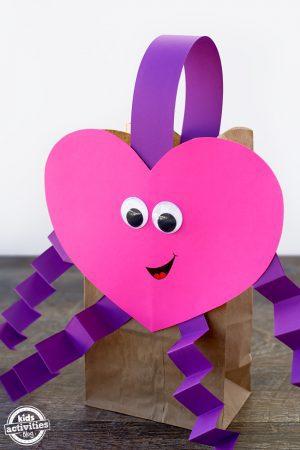 Easy Valentine Bags