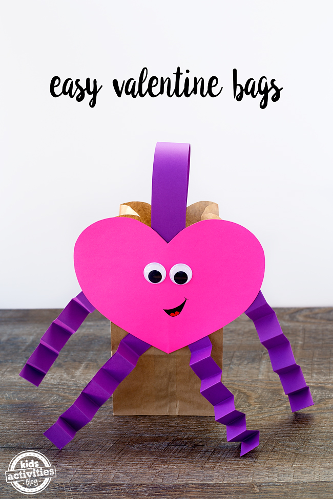 valentine craft ideas kindergarten easy bags 5642