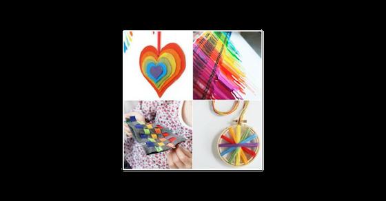 21 Rainbow Crafts amp Activities