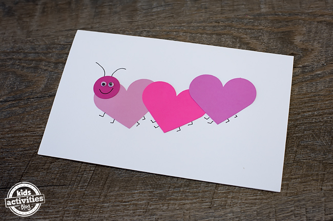 Easy Love Bug Valentines