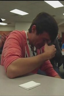 Son Breaks Down Into Tears After He's Outbid Trying To Buy His Dad's Squad Car At Auction