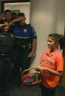Ten-Year-Old Brings Police Officers To Tears With Two Little Words…