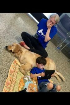 Mom Breaks Down As Autistic Son Instantly Bonds With New Dog