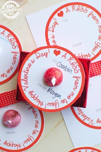 simple homemade valentines hersheys kiss