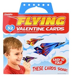 These paper airplanes are the perfect Valentine's cards for kids!