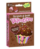 Scratch & sniff cards are perfect Valentine's cards for kids!