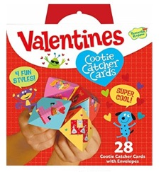 These Cootie Catcher cards are fun Valentine's card for kids!
