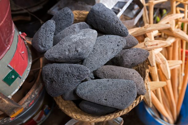 volcanic rock can remove unwanted house smells