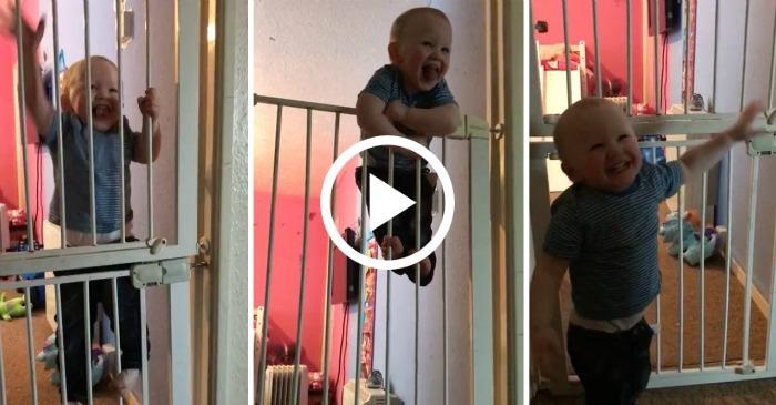 Mom Escapes Baby Room