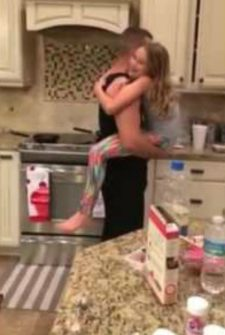Dad Took Time Away From Cooking To Dance With His Daughter