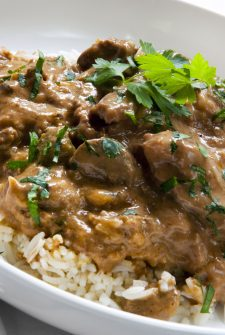 Lean Hamburger Stroganoff
