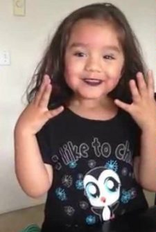 Four-Year-Old Explains Why She Used Mom's Makeup