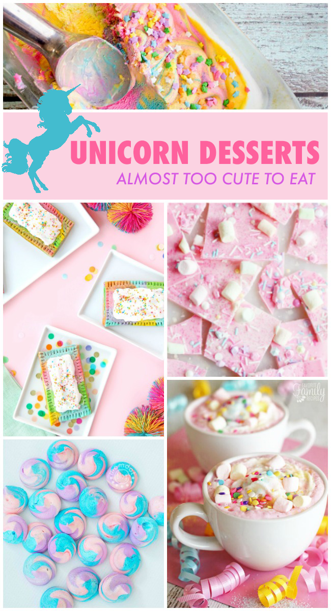 Unicorn Food {Almost} Too Cute To Eat