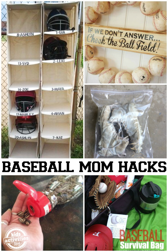 Baseball Mom Hacks