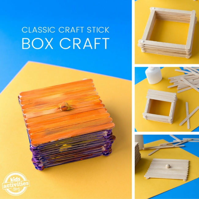 Classic Craft Stick Box Craft 6