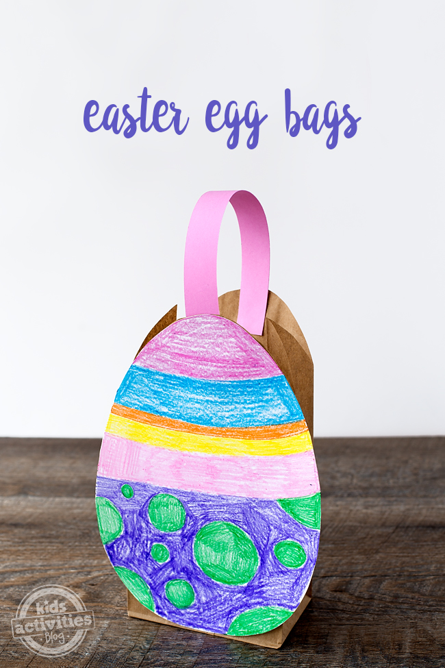 Easy And Fun Easter Egg Bag For Kids