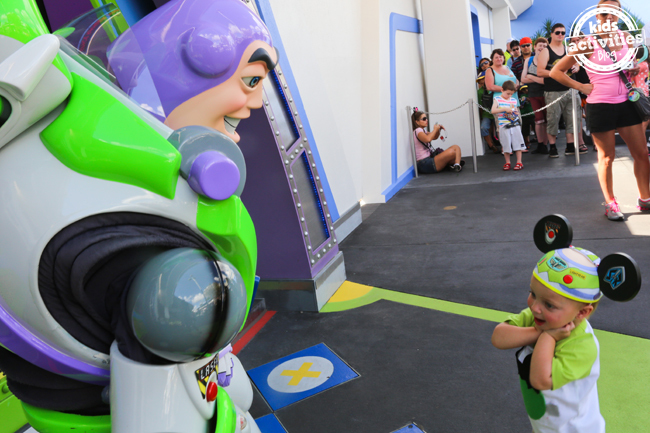 Meeting Buzz Lightyear