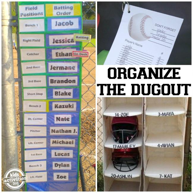 Organize Dugout