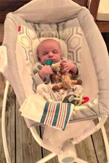 Boxer Loves To Tickle Baby's Tummy (And Baby Loves It, Too!)