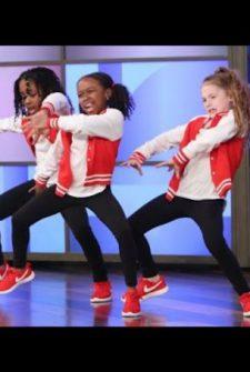 These Tween Girls Dancing On Ellen Will Blow Your Mind!