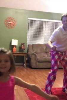 Daddy And Daughter Dance To Justin Timberlake, And It Is AWESOME!