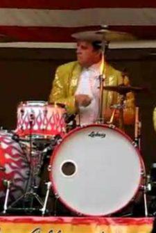 Drummer Goes Wild On Stage, Steals The Show