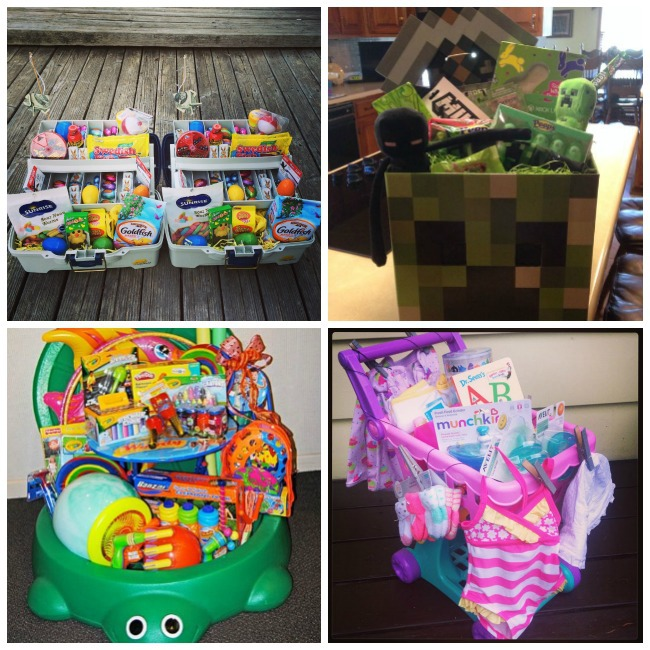 12 creative easter basket ideas kids activities if you have a kid that loves baseball this is the best easter basket ever source unknown negle Gallery