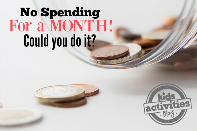 How to Have a NO Spending Month