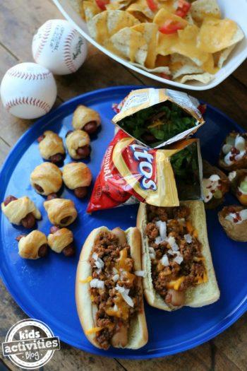 5 Best Ballpark Food Ideas for Kids