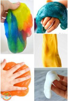 Borax-Free Slime Recipes