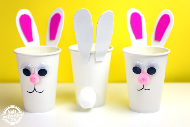 Bunny Cups for Easter