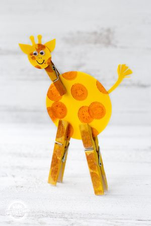 Easy Giraffe Craft for Kids