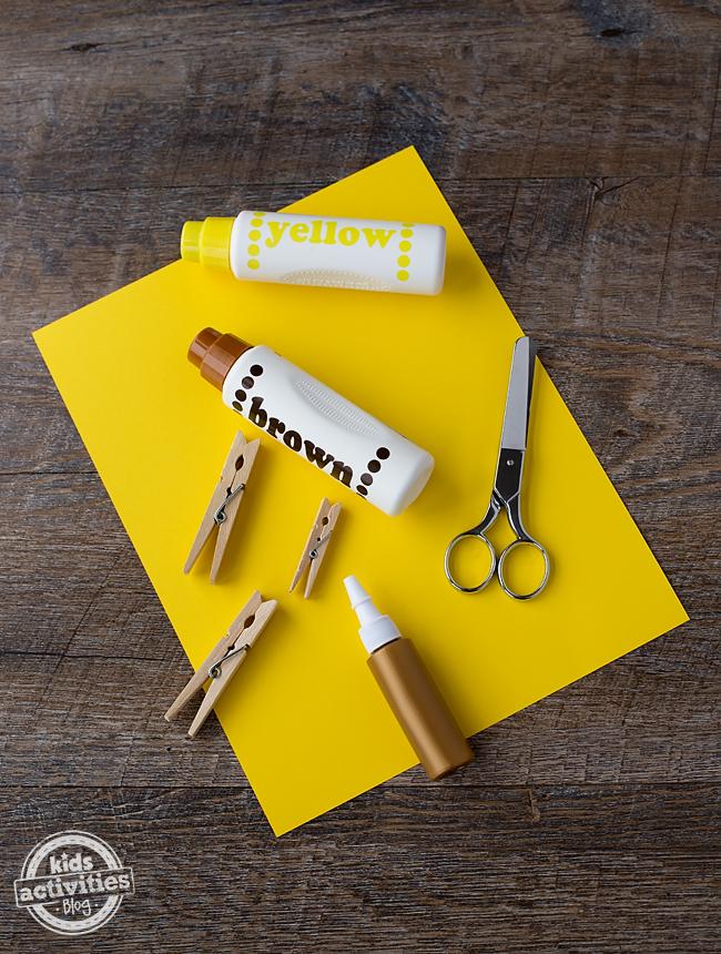 Easy Giraffe Craft for Kids