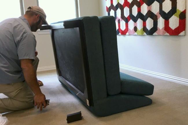 Joybird furniture assembly