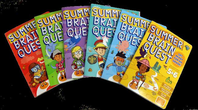 Summer Brain Quest Books
