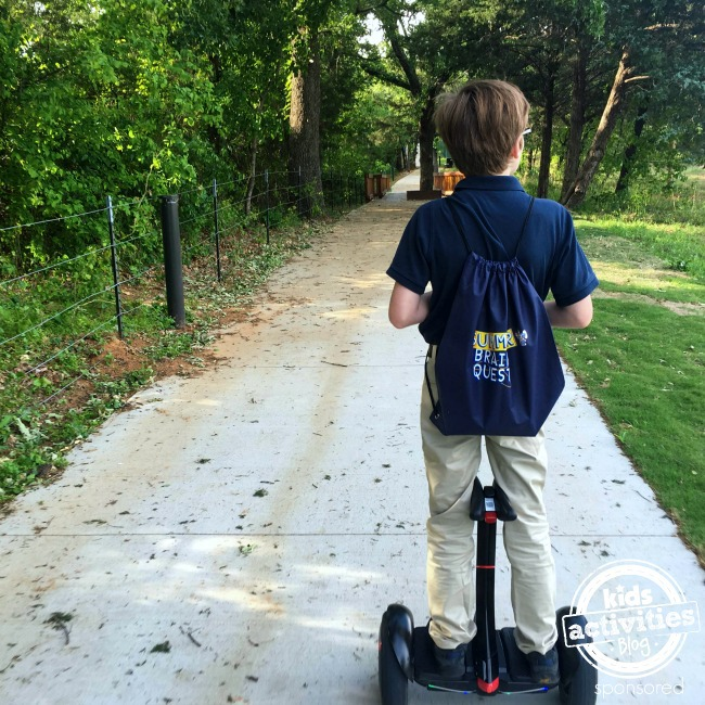 Summer Brain Quest on segway