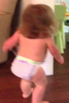 Toddler Picks Last Minute Hiding Place
