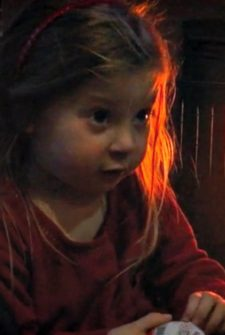Little Girl Gives Sweet Response To Unwanted Chocolate